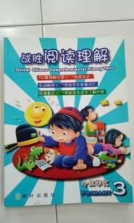 P3 Defeat Chinese Comprehension战胜阅读理解