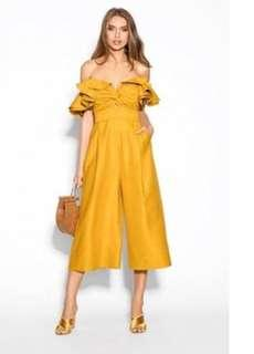 Sheike mustard GRACE jumpsuit - sz 10