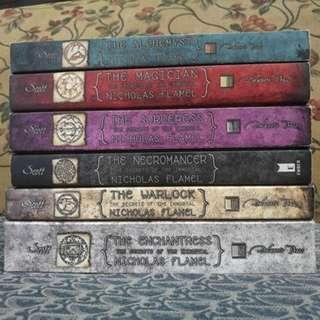 The Secrets of the Immortal Nicholas Flamel series by Michael Scott, Complete