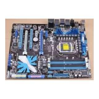ASUS P7P55D-E Mother board for gaming