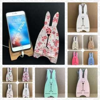 Flower Colour Bunny Handphone Holder Stand @sunwalker