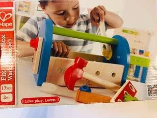 Hape 德國木製玩具工具箱