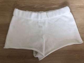 Woollen High waisted shorts