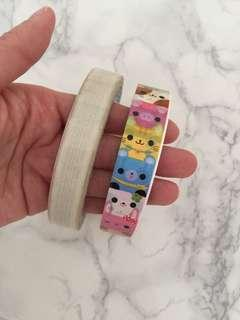 Animal tape, lace tape