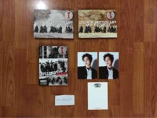 EXO Don't Mess Up My Tempo Album, Postcards, Posters [On-Hand]