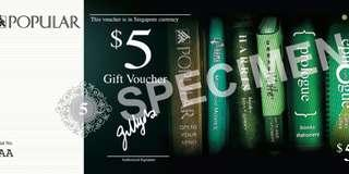 🚚 Popular Bookstore Vouchers $5
