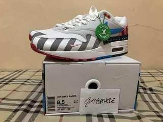 Original Sneakers Nike Air Max 1 Parra 2018 [Ready Stock from StockX]