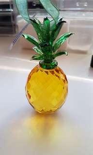 New with box pineapple suncatcher