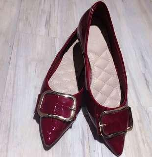 Playlord - Red Burgundy shoes size 38
