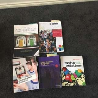 Media and communications and public relations books