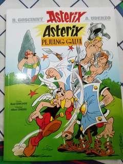 Komik Asterix Pejuang Galia
