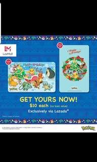 Christmas Pokemon Ezlink Set for sale