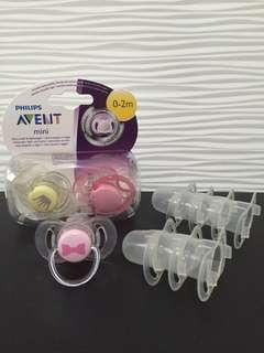 Avent pacifier soother bundle
