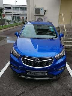 Opel Mokka Diesel Car 1.6A for RENT for Grab