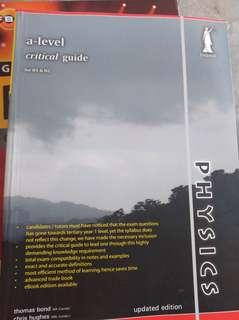 Physics A level Critical Guide