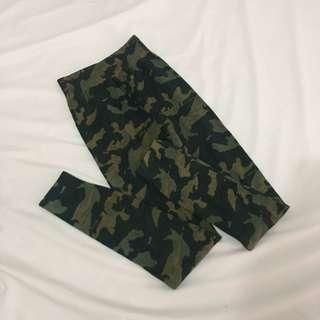 Army Thick Cotton Legging