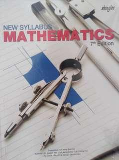 shinglee new syllabus mathematics textbook secondary 1