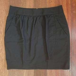 Black skirt for office