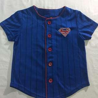 Superman Button down Shirt