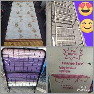 Folding bed w/ordinary