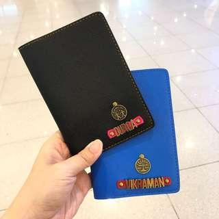 Personalise Christmas Gift Passport Cover
