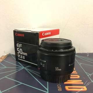 Canon EF 50mm f1.8 II(best deal)