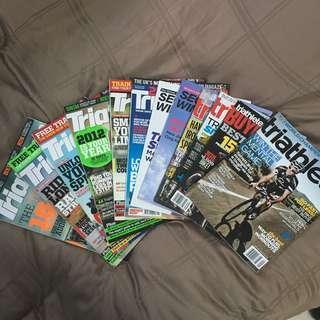 Triathlete and Triathlon Plus Magazine