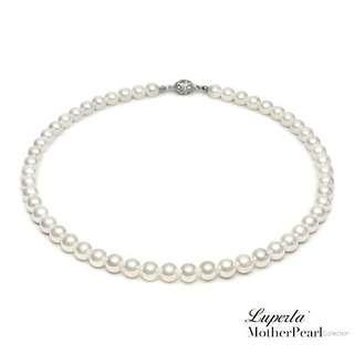 大東山珠寶 項鏈 10mm南洋貝寶珠套組  兩層款
