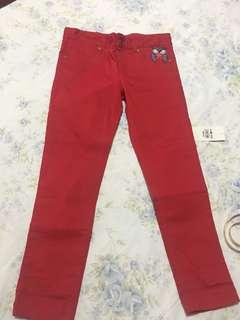Peppermint red pants