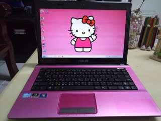 Asus Pink/win7/4Gb/320Gb hdd/ i3/14.5inch/Gaming