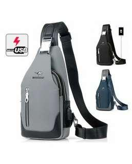 USB CROSSBODY BAG / SLING BAG / POUCH BAG