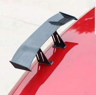 🚚 6.7 Inch Universal Car Tail Wing Carbon Cheap Spoiler Mini Auto Fiber Decoration