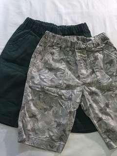 Uni Qlo Boy's Easy Shorts