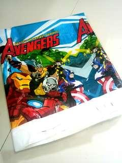 Avengers Birthday Table Cloth (square)