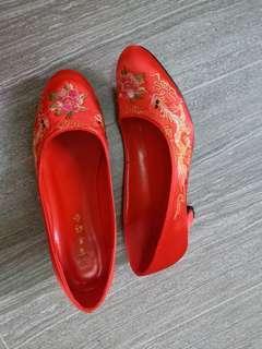 結婚掛鞋 39號 (9 成新)