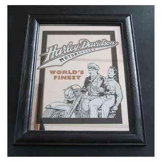 HARLEY DAVIDSON DECO WALL MIRRORS