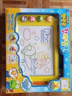 BNIB Pororo magnetic writing board
