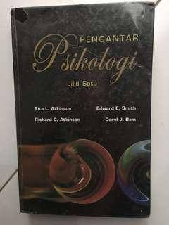 Buku pengantar psikologi jilid satu