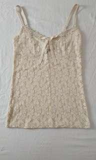 MNG lace singlet