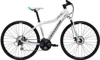 Cannondale Quick CX 3 Neon White / Blue Bicycle