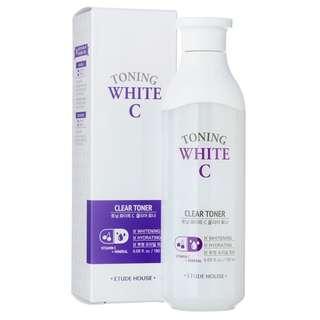 ETUDE HOUSE Toning White C Clear Toner 180ml