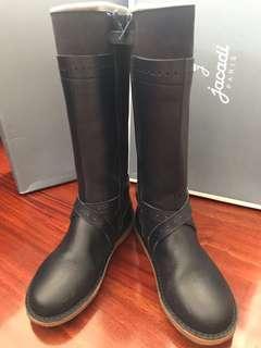 🈹3折(Size34) Jacadi 深藍色長靴 Boots