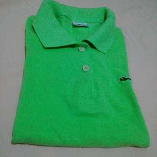 Polo Top Mint Green