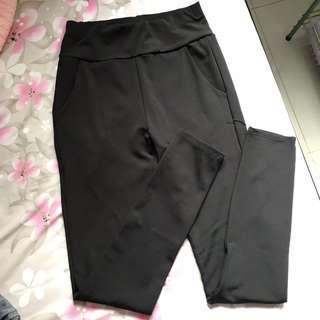 Black Yoga/Exercise Pants