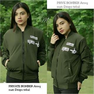 Private bomber jacket