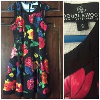 Doublewoot Floral Dress vintage