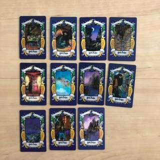 Harry Potter Chocolate Frog Lenticular Cards