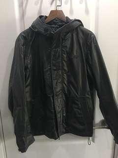 Italy Diesel  黑色 防水防風外套 風褸 jacket waterproof