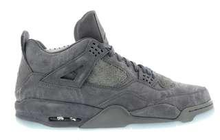 US 9.5 Nike Jordan 4 Retro Kaws Cool Grey