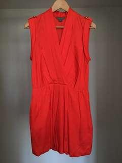*Discounted* AX Red Short Dress